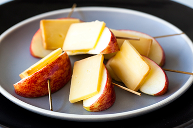 Cheese-w-apple